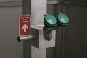 1121202 frostprotected safety shower eyeshower detail