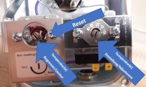 Abbildung 1 Non-EX Heizer Artikel-Nr. 1600110 Gehäuse_Casing silber_silver